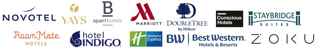 Hotel logo's
