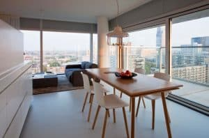 Urban Residences Rotterdam werkplek